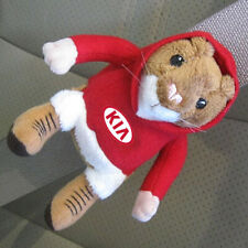 Kia Hoodie Hamster Seat Belt Buddy Plush Toy with Logo hampster hamstar