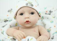 10'' Soft Vinyl Realistic Reborn Baby Boy Doll Real Life Lifelike Baby kids gift