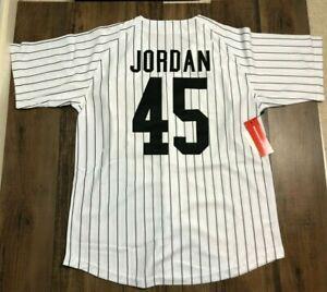 Michael Jordan Birmingham Barons Pinstriped Baseball Jersey NWT Minor League