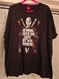 Viking Ragnar 3xl Black Tshirt