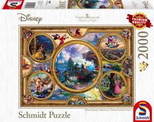 2000 Teile Schmidt Spiele Puzzle Thomas Kinkade Disney Dreams Collection 59607