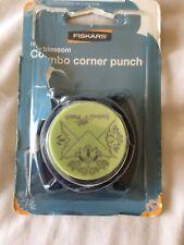 Fiskars Combo Corner Punch VGC