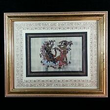 Original Greek Mythology Pompeii Wine God Dionysus Art Deco Framed Hand Painting