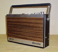 VINTAGE 1973 UNITRA ELTRA DOROTA PORTABLE RADIO