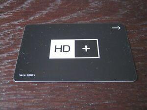 HD+ Plus Karte Smartcard schwarz HD03 NEU 12 Monate für Sat - Astra