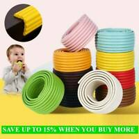 Foam Bumper Furniture Baby Safety Desk Corner Protector Table Edge Guard Strip-