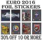 Panini Euro 2016 FOIL STICKERS / SPECIAL / SHINY / BADGES / LOGO / FOILS