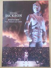 Retro Quality Poster Music A1 Large Michael Jackson History Album Pop