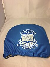 Phi Beta Sigma Fraternity Headrest Cover-Blue-Set of 2-New!