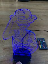 Colourchanging One Piece Luffy Custom LED Light Stand With Remote