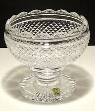 "VINTAGE WATERFORD CRYSTAL PERIOD PIECE FOOTED 5"" CANDY DISH ~ MADE IN IRELAND"