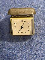 Older Westclox Travel Windup Alarm Clock-Working Condition