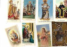 LOTTO 283 SANTINI VARI HOLY CARDS Santi Chiese Santuari '900