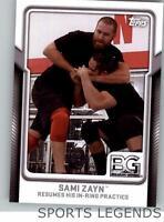 2017 Topps WWE Breaking Ground #9 Sami Zayn