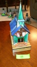 Stained Glass Chapel Lamp (#18)