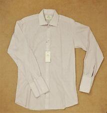 Hawes & Curtis Größe 15.5 35 Baumwolle Gestreift Formell Business Hemd weiß blau rot