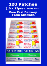 Genuine Salonpas Patch  - Made in Vietnam 10 Boxes 120 Patches