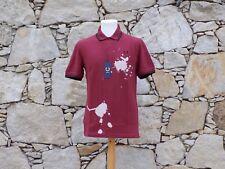 FRED PERRY.   Splatter print pique shirt.  100% Cotton.   BNWT.   Size 38.