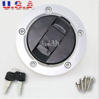 Fuel Gas Tank Cap Cover Lock Key For Suzuki GSXR 1000 750 600 Hayabusa GSXR1300