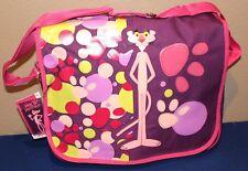 AUTHENTIC CHENSON NWT PINK PANTER Messenger  / School Bag Girls Multi-Pocket