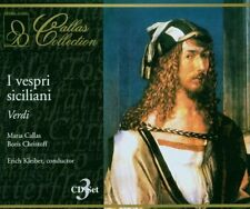 Verdi: I Vespri Siciliani Maria Callas Kokolios-Bardi Christoff Mascherini 3CD