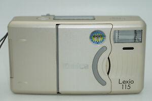 Konica Lexio 115, 38-115mm Zoom Compact 35mm Film Camera