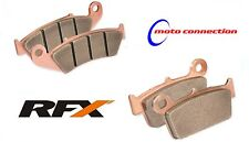 RFX PRO SERIES FRONT & REAR BRAKE PADS KAWASAKI KX85 KX100 1997 - 2017   203/101