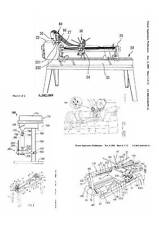 Wood Lathe, 200 Patents, 1700 Pages