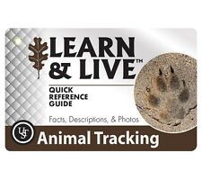 Animal Tracking Quick Reference Guide UST Learn & Live Cards Ultimate Survival