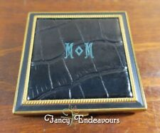 Rex Fifth Avenue Exotic Alligator/Crocodile Leather Make Up Compact Gift for MOM