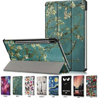 for Samsung Galaxy Tab S7 PU Leather Case Tri-Fold Tablet Case T870 T875 11inch