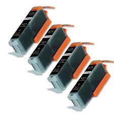 4 BLACK Ink Cartridge w/ CHIP fits Canon CLI-251XL MG5520 MX722 MX922 MG7120