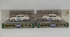 CARS : FORD CORTINA SALOON POLICE CAR DIE CAST MODEL MADE BY CORGI (DT)