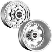 "Set of 4-16"" Inch Vision 181Z Hauler Dually 8x170 Machined Wheels Rims"