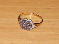 Harry Ivens Ring Gold 375 mit Tansanit Gr 20