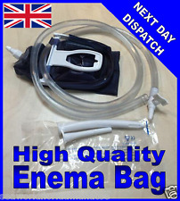 New Home Enema Colonic Irrigation Douche Kit Reusable Bag Detox 2 Litre THE BEST