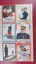 poster stamp cinderella vignette marken propagande militaire joffre bloc guerre