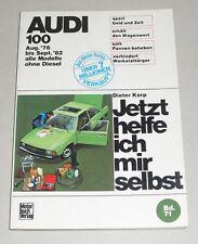 Manuel de Réparation Audi 100 C2 Type 43, Année de Construction 1976 - 1982 Sans