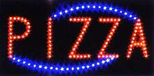Ultra Bright Led Neon Light Animated Motion Pizza Business Open Sign L49