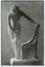 Sarah Lebedieva, Modèle nu à la chaise, 1944 Vintage silver print.Sarra Dmitri