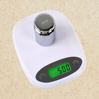 Digital LCD Kitchen Food Diet Postal Scale Weight Balance 7Kg-1g Gram Backlight