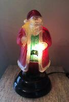 RARE VINTAGE 1985 Merck Old World Christmas Santa Light 1st Edition