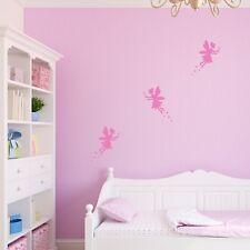 Set of Fairies - Fairy Wall Stickers - Fairy Decal - Fairy Bedroom Wall Art