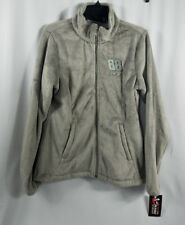 Womens Jacket Size Medium Dale Earnhardt Jr Chase Authentics Gray Fleece Zipper