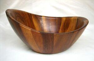 Nambe Harmony Serving Bowl, Acacia Wood