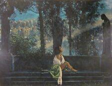 "Walter Girotto - ""Waiting for a Sunbeam"" - Art Giclee"