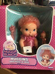 Vintage HALLMARK Hugga Bunch Doll 1986 Vinyl HUGGUMS & baby HUG A BYE excellent