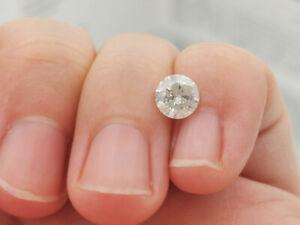 Echter natürlicher Diamant 0,97 ct. mit Zertifikat, F