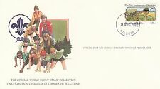 (90223) Maldives FDC Card Scouts - Male 9 August 1982