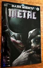 Dark Nights METAL #3 Exclusive Mattina FOIL - Batman Who Laughs - LTD 3000  NM